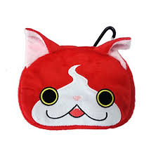 ds legend of zelda pouch amazon deal black friday yo kai watch plush character pouch jibanyan for new nintendo 3ds