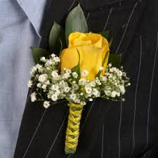 boutonniere cost yellow boutonniere and corsage wedding package