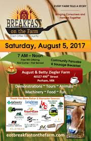 eotc breakfast on the farm otter tail lakes country
