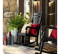 Pottery Barn Rocking Chair Beautify Your Outdoors Salem Rocking Chair By Pottery Barn