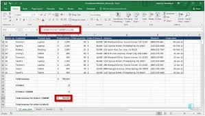 Countif Sumif Minif The Best Excel Formulas For Business