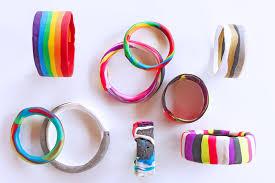 easy bracelet tutorials images Polymer clay tutorial 6 ways to make clay bracelets babble jpg