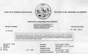 business license template 10 best images of business license