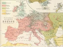 Map Of Europe And North Africa by Religion Map Mid 19th Century Scottish Map Of World Religion