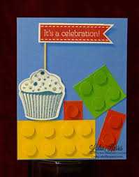 crafty lalia lego style birthday card