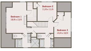 craftsman style house plan 4 beds 3 00 baths 2116 sq ft plan 461 3