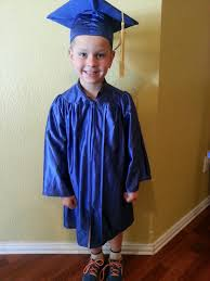 pre k cap and gown colin s pre k graduation the mears shenanigans