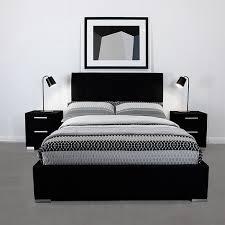 Black King Platform Bed Wonderful Inspiration Black King Bed Frame Basel Black King