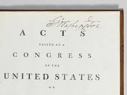 the acts of congress george washington u0027s mount vernon