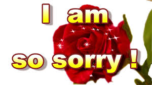 card for sorry sorry card i am sorry greeting card