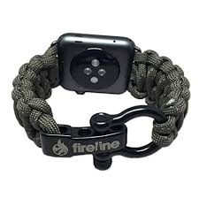 Rugged Outdoor Fireline Apple Band 42mm Replacement Paracord Band