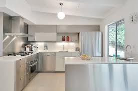 Modern Kitchen With White Appliances Fair Modern Kitchen Appliances In Modern Kitchen With White