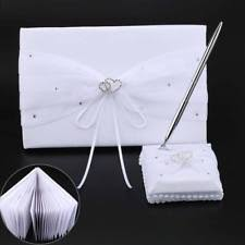 guest book and pen set unbranded wedding guest books and pens ebay