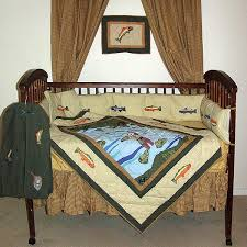 Fishing Crib Bedding Fly Fishing Crib Bedding Sets Cabin Place
