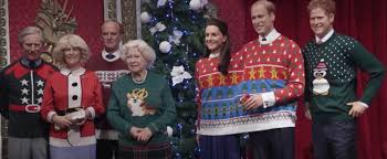 the royal family dons sweaters in the name of charity