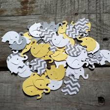 yellow and grey baby shower decorations shop chevron elephant baby shower decorations on wanelo