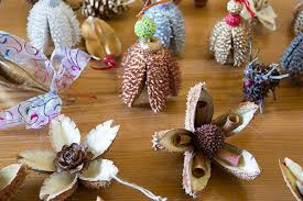 Make Your Own Christmas Decoration - kids workshop make your own botanical christmas decorations