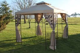 Grill Gazebos Home Depot by Pergola Canvas Gazebo Fearsome Bushtec Canvas Gazebo U201a Suitable