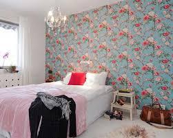 smartness inspiration flower wallpaper designs for bedrooms 8 free