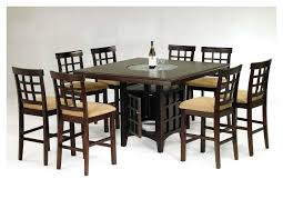 Pub Dining Room Set by Dining Table Set With Lazy Susan Dining Room Amazing Rustic