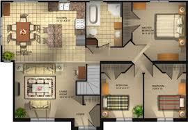 3 bedroom bungalow floor plan bedroom bungalow floor plans open concept pictures small house