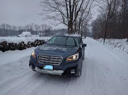 subaru outback snow subaru awd yokohama geolandar g015 tires u003d tank in the snow