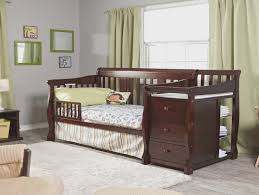 Convertible Crib And Changer Combo Storkcraft Portofino Convertible Crib And Changer Combo Cherry