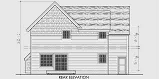 4 bedroom house plans 2 story 40 ft wide 2 story craftsman plan with 4 bedrooms