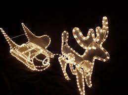 outdoor reindeer decorations outdoor light