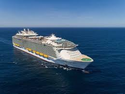 cruise ship the world symphony of the seas giant royal caribbean ship begins first voyage