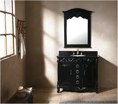 bathroom vanity with glass top 30 lander vanity cabinet black