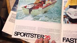 old evinrude and boston whaler brochures youtube