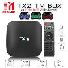 aliexpress com buy mesuvida tx2 r2 android 6 0 smart tv box bt