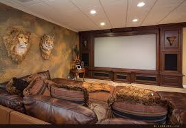 Projector Media Room - 1223 oxford lane naperville luxury custom estate home for sale