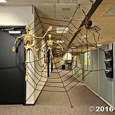 creepy home decor halloween spooky creepy giant spider web party decorations scary