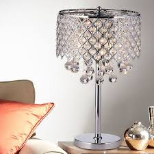 Crystal Chandelier Table Lamp Crystal Table Lamps You U0027ll Love Wayfair