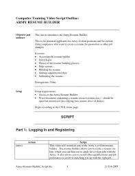 Army Resume Example by Military To Civilian Resume Template