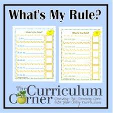 pattern games for third grade number pattern cards w printable fourth grade math pinterest