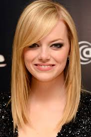 shoulder length haircut with side bangs hairstyle picture magz