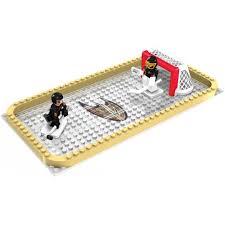 oyo sports nhl 100 piece backyard rink set pittsburgh penguins