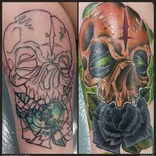 skull cover up artists org