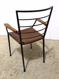 Heals Armchair Up To The Minute Metal And Leather Dining Chairs Home Decor