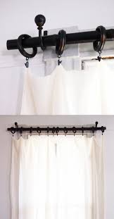 decorations curtain rod extender pottery barn curtain rods