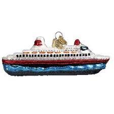 cruise ship ornament 46030 merck family world