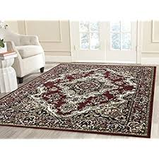 Carpet Images For Living Room Amazon Com Msrugs Living Room Rug Area Rugs Clearance 2x3 Red