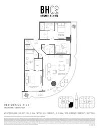 77 Harbour Square Floor Plans Brickell Heights West Bh02 Miami Real Estate Trends