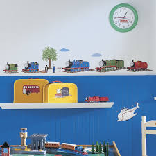 Boy Nursery Wall Decals by Thomas The Tank Engine And Friends Peel And Stick Wall Decals