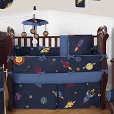 Moon And Stars Crib Bedding Baby Boy Bedding Sets