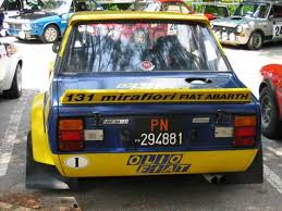Fiat Abarth 131 Rally 1976 78 by Historic Rally U0026 Classic Race Cars Fiat 131 Abarth