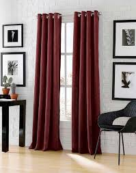 Long Window Curtains by Astor Wide Width Chenille Corduroy Grommet Panel Curtainworks Com